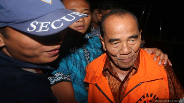 Gubri Annas Maamun Diduga Palsukan APBD Riau tahun 2015
