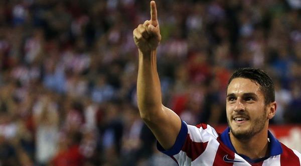 Koke tak ingin meninggalkan Atletico Madrid (Foto: Reuters)