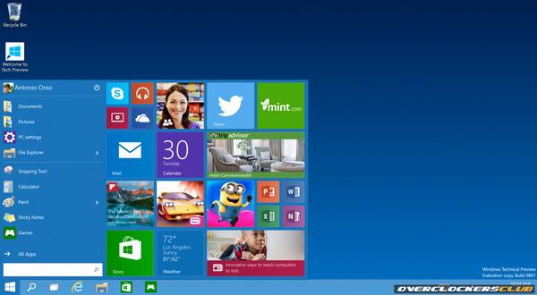 Microsoft Resmi Ungkap OS Windows 10