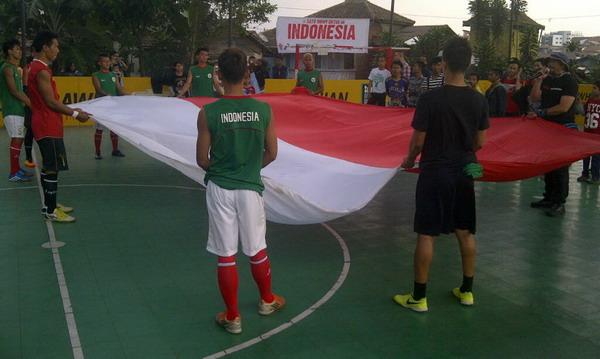 Tim Nasional Homeless Indonesia (Foto: Oris Riswan/Okezone)