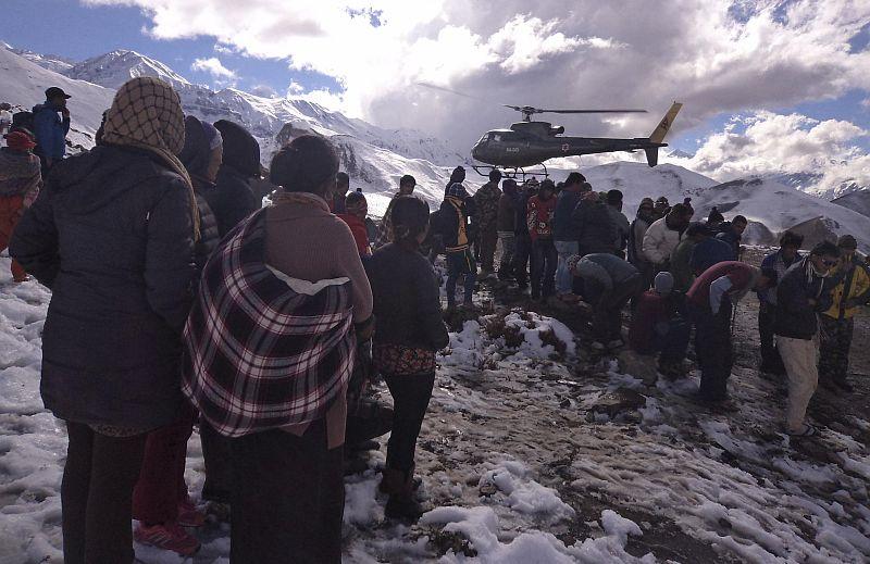 Badai Salju Terjang Nepal, 20 Orang Meninggal