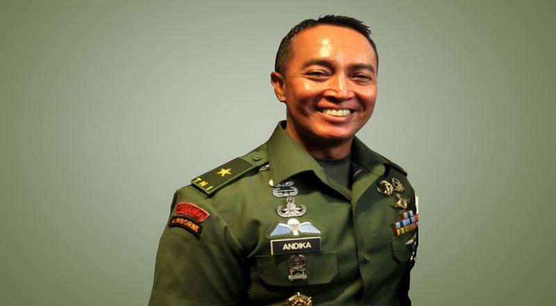 Profil Menantu Hendropriyono, Danpaspampres Pilihan Jokowi