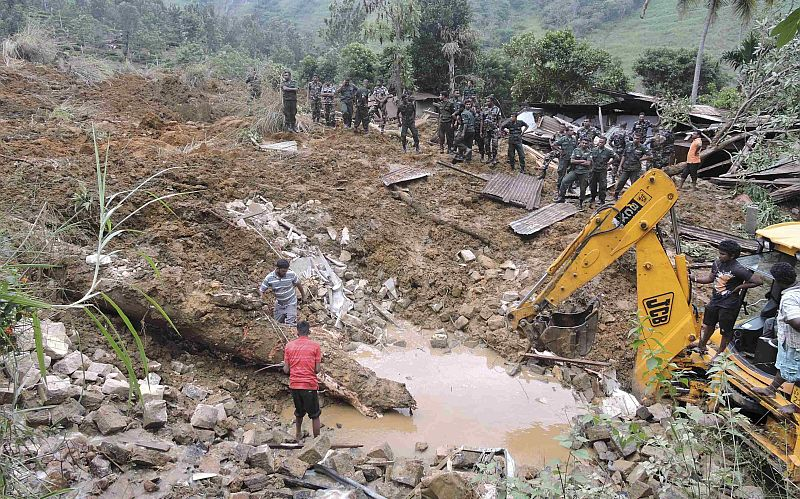 Longsor di Sri Lanka Tewaskan 100 Orang
