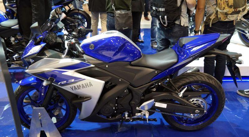 Yamaha R3 Buatan Indonesia Tampil di Eropa