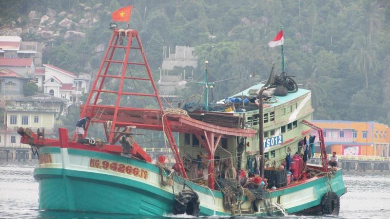 TNI Tangkap Lima Kapal Asing dalam Sepekan