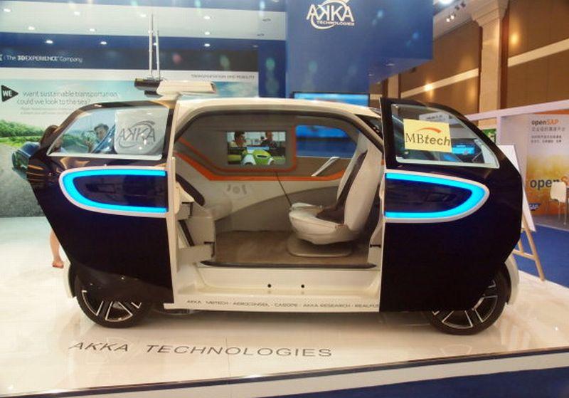Ini Mobil Pintar Link&Go, Bisa Jalan Sendiri ke Tujuan