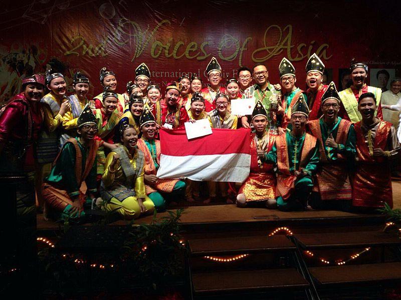 Svara Prasetiya Mulya Sabet Juara Internasional