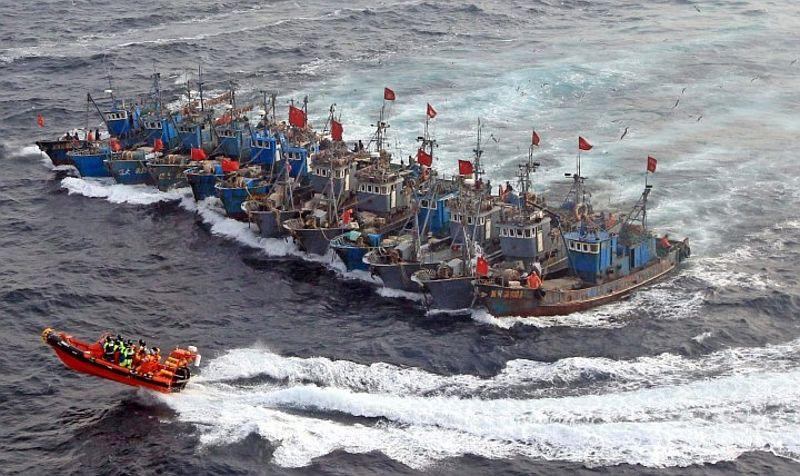 Kapal Korsel Tenggelam, Tujuh Awak Diselamatkan