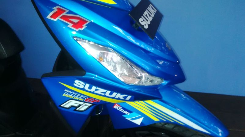 Beda Motor Suzuki Address Versi Standar dan MotoGP