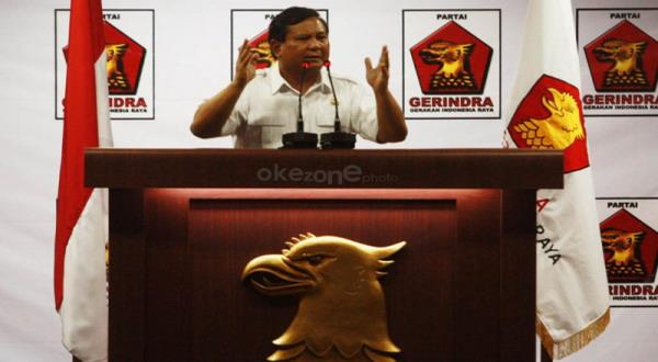 Gerindra Dinobatkan sebagai Partai Paling Transparan