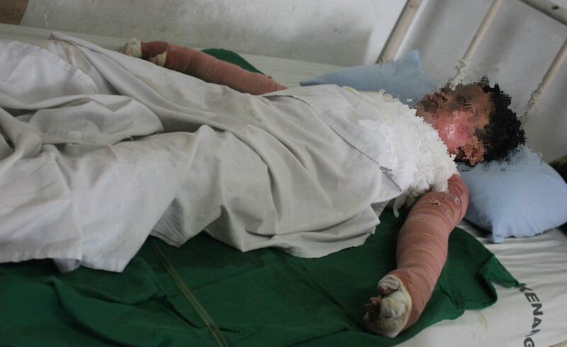 Medan - ramadhan (9) terbaring lemah di ruang perawatan rsud pirngadi