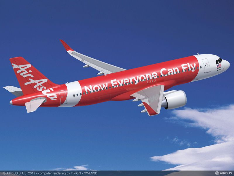 Pesawat Air Asia Dari Surabaya ke Singapura Dilaporkan Hilang !