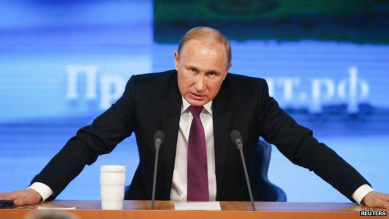 Presiden Putin Disegani Negara-Negara Barat
