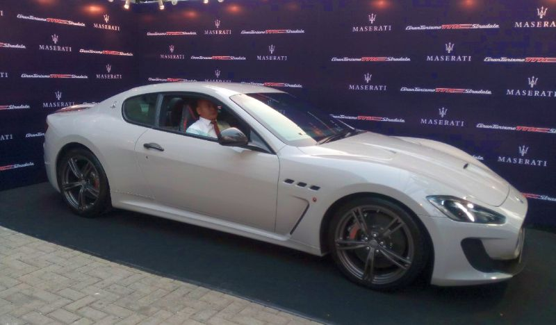 Maserati Granturismo Mc >> Peminat Maserati Granturismo Mc Stradale Centennial Sudah