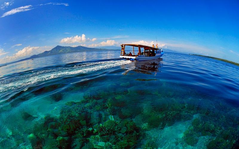 sehingga bikin Anda berdecak kagum saat menginjakkan kaki di Laut Bunaken.