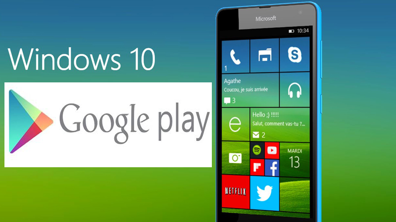 Google play windows 10 mobile | Google Play Store For PC