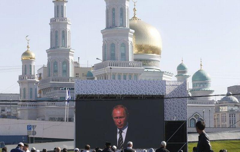 Мечеть имени Путина в Москве фото