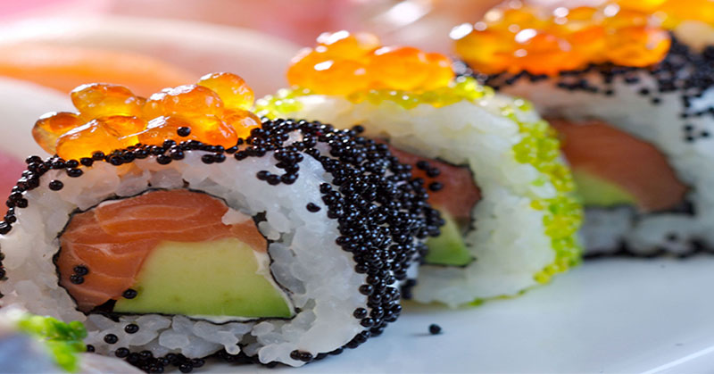 Telur Ikan Pada Sushi Benar Telur Salmon Okezone Lifestyle