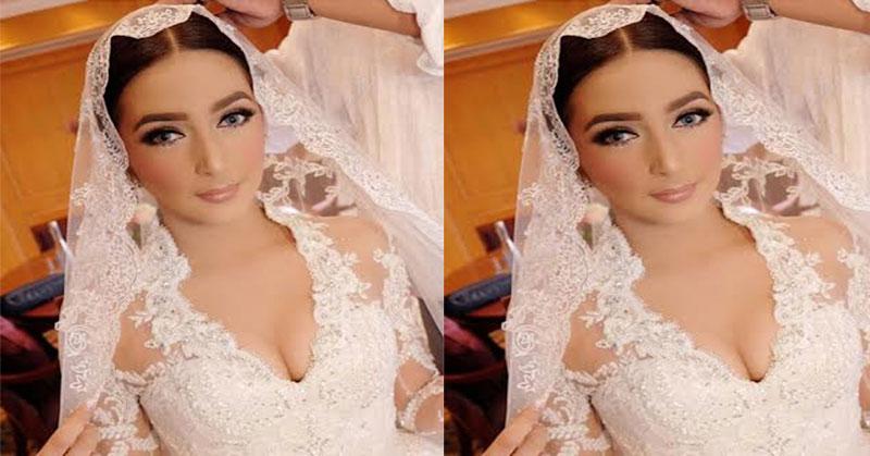 Cantiknya Nabila Syakieb Dalam Balutan Gaun Akad Nikah Okezone
