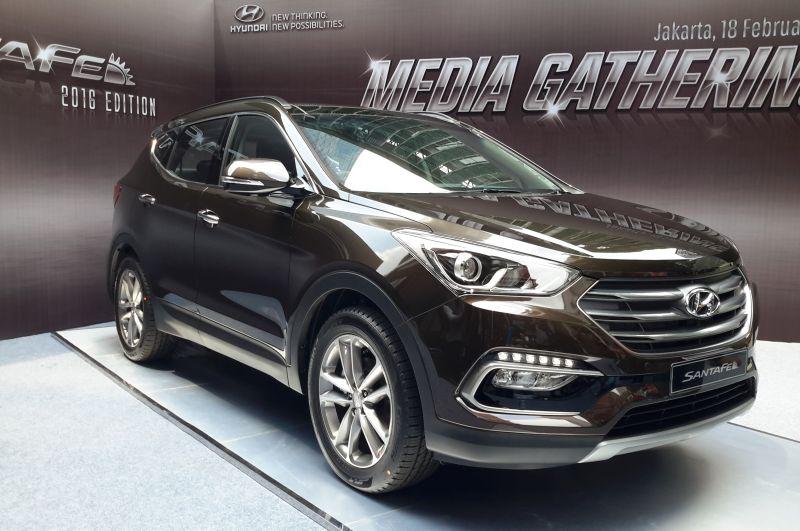 2016 Hyundai Santa Fe >> Spesifikasi Hyundai Santa Fe Model 2016 Untuk Pasar