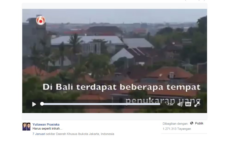Beredar Video Bule Bongkar Penipuan Money Changer Di Bali