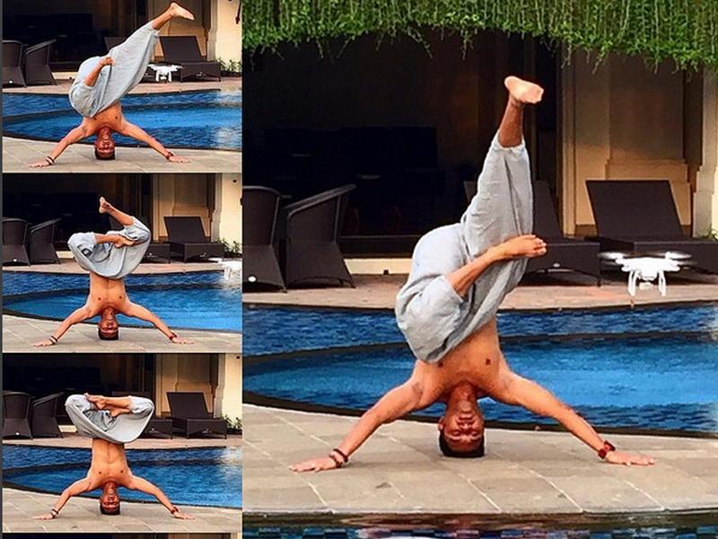 pose yoga keren