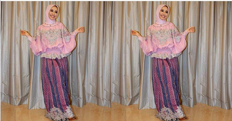 Foto Kenakan Baju Bodo Laudya Chintya Bella Cantik Bak Barbie