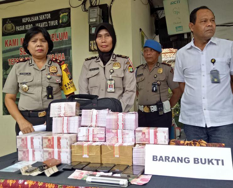 Polisi Ungkap Kasus Penipuan Dan Penggelapan Uang Bergambar Upin