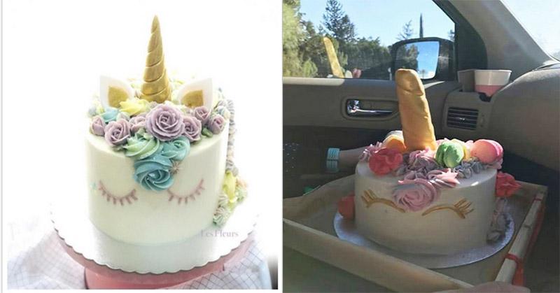 Minta Kue Ulang Tahun Unicorn Tapi Seperti Ini Yang Didapat