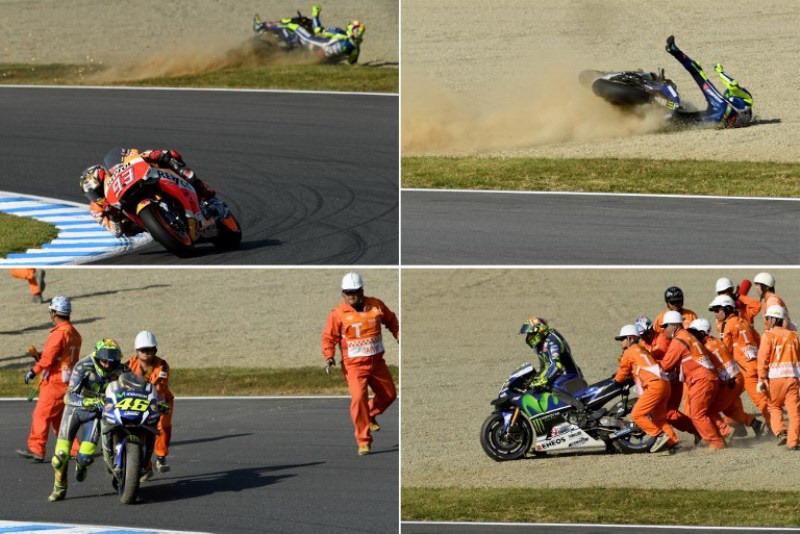Berita Motogp Valentino Rossi Berbuat Dosa Di Motegi Okezone Sports