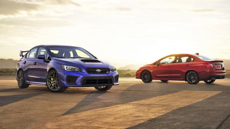 Subaru Wrx Vs Sti >> Sedan Sport Subaru Wrx Wrx Sti Menyapa Dunia Okezone