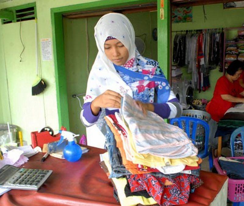 Contoh Mmt Laundry Keren Terbaru - desain banner kekinian