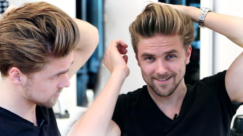 Image result for pria menata rambut