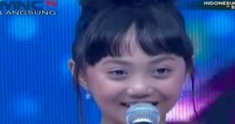 Idol Junior Terbiasa Lagu Berbahasa Inggris Sharon Ditantang Nyanyi Dangdut Okezone Celebrity