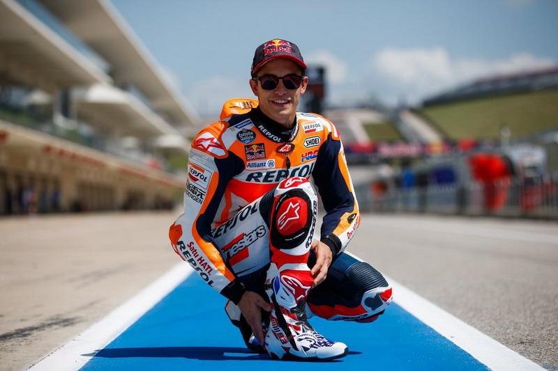 """Marquez Buru Status """"Magnificent 7"""" di MotoGP Amerika"""