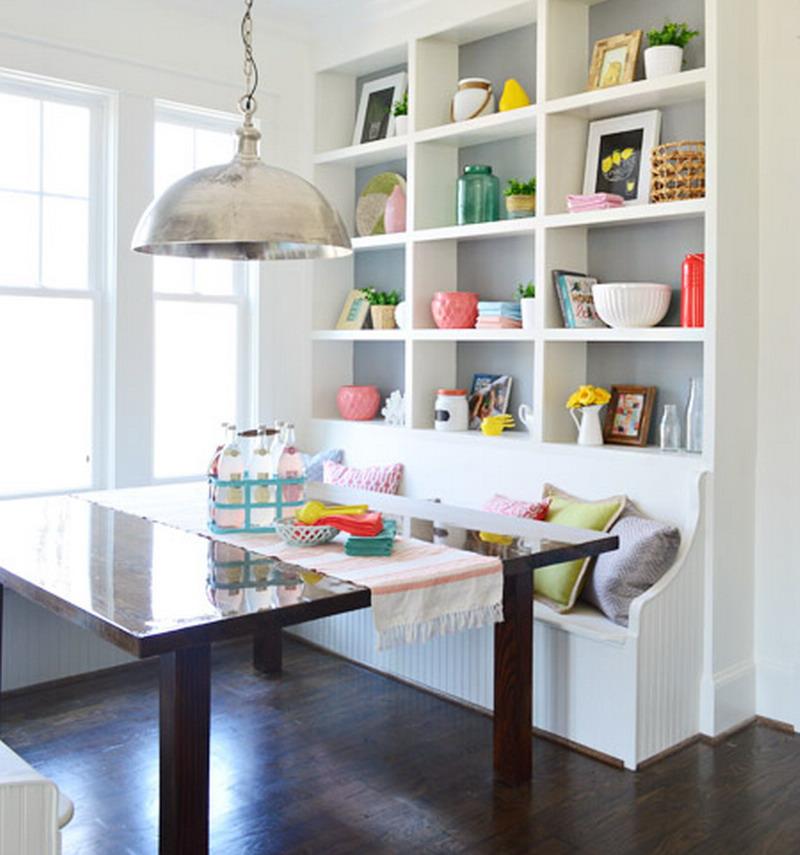 Desain Ruang Tamu Tanpa Kursi  desain ruang makan unik untuk rumah kecil dekor kursinya