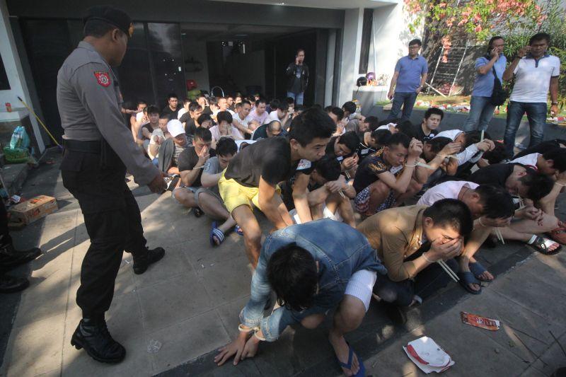 93 Warga Negara China Lakukan Penipuan Online Di Surabaya Polisi