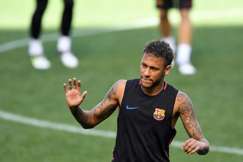 Hasil gambar untuk neymar latihan