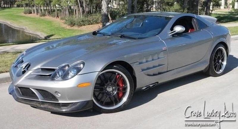 Mercedes Benz Slr 722 Bekas Michael Jordan Dijual Lagi Berapa