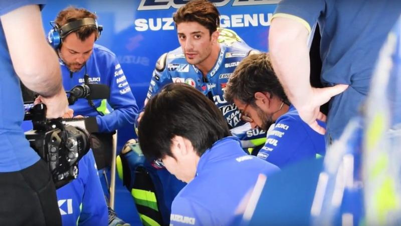 Gigit Jari di Musim Pertama Bersama Suzuki