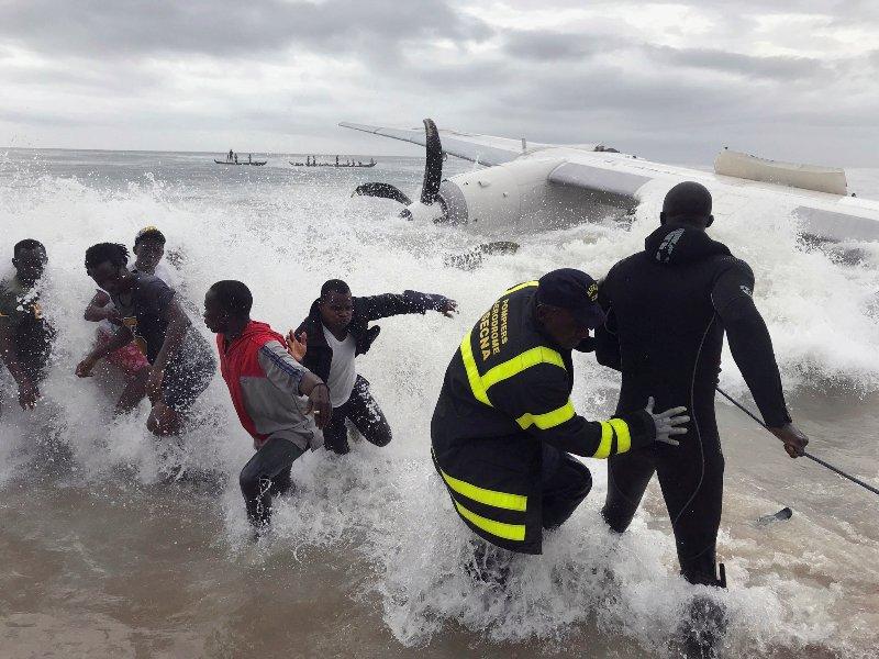 Pesawat Kargo Rusia Jatuh Di Pantai Gading , 4 Orang Tewas