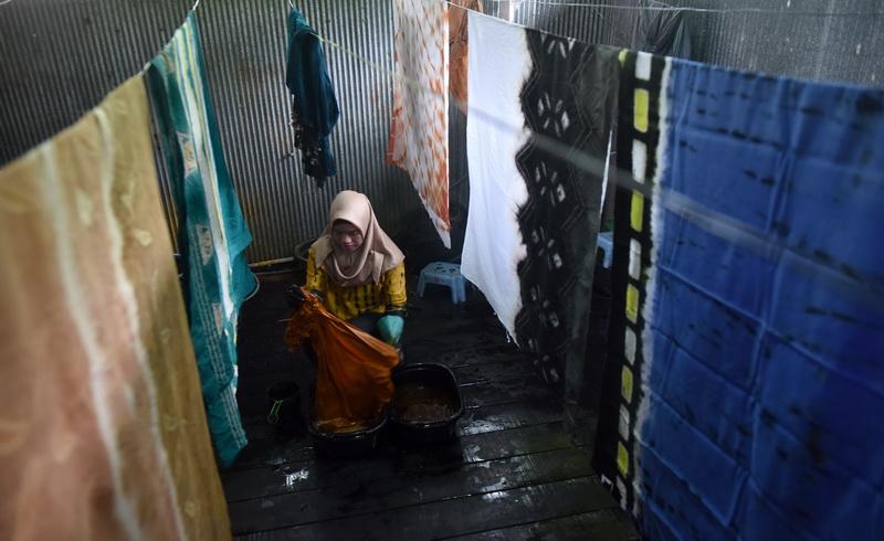 Keren Muncul Banyak Motif Baru Batik Sasirangan Khas Kalimantan