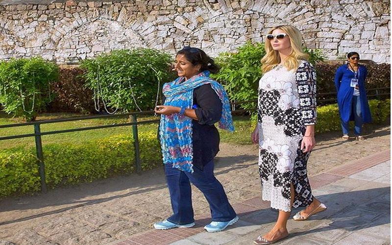 Ivanka Trump Pakai Busana Rancangan Biyan Wanaatmadja Saat Tur Ke
