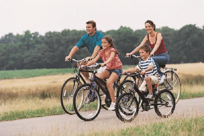 4 Manfaat Bersepeda 30 Menit Sehari bagi Kesehatan : Okezone Lifestyle