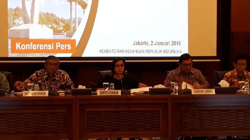 Hasil gambar untuk Konferensi Pers Perkembangan Ekonomi Makro dan Realisasi APBNP 2017