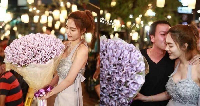 https: img.okeinfo.net content 2018 02 15 196 1860203 bikin-iri-wanita-ini-hadiahi-kekasihnya-dengan-buket-bunga-dari-uang-asli-j2NMDfBdLi.jpg