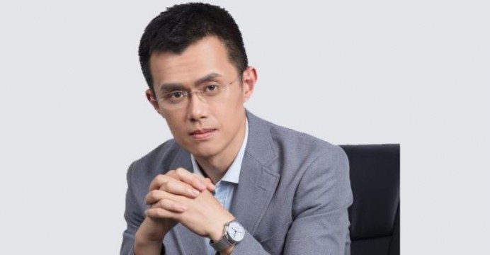 Image result for Changpeng Zhao