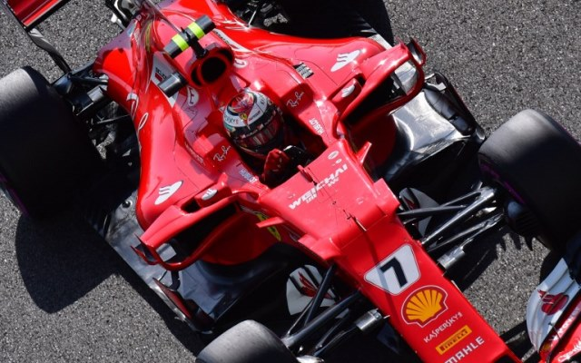 Raikkonen Terkesan Dengan Model Baru Mobil Ferrari Okezone Sports