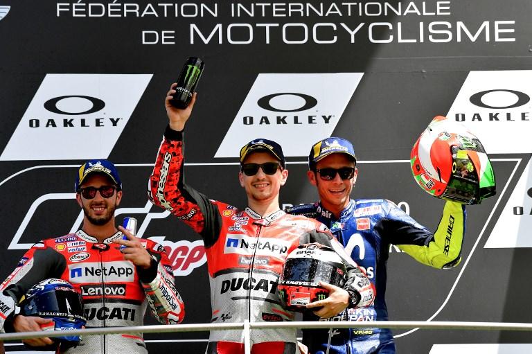 Dall'Igna Puas dengan Prestasi Ducati di MotoGP Italia 2018