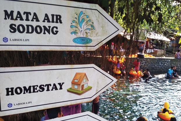 Pemandian Mata Air Sodong Wisata Murah Meriah Di Bogor